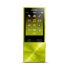 A Series High-Resolution Audio 16GB Walkman (Yellow)