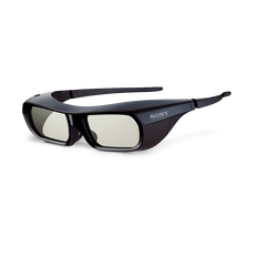 Active Shutter 3D Glasses for BRAVIA Full HD 3D TV (Black)