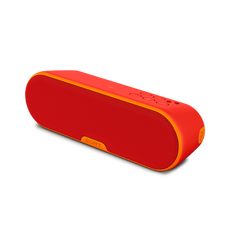 EXTRA BASS Portable Wireless Speaker with Bluetooth (Red)