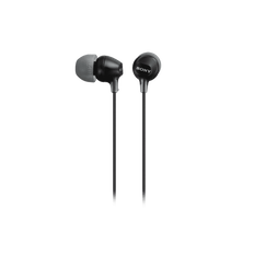 In-Ear Lightweight Headphones with Smartphone Control (Black)