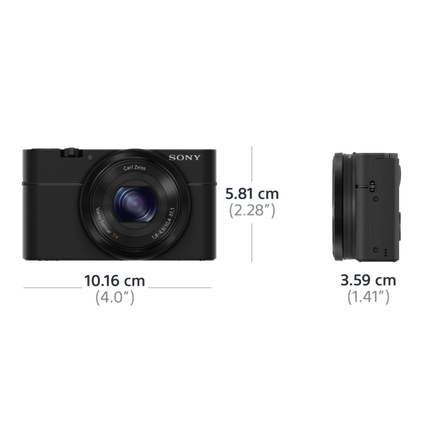 RX100 Digital Compact Camera with 3.6x Optical Zoom