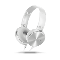 XB450AP EXTRA BASS Headphones (White)