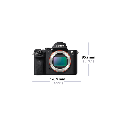 a7 II Digital E-Mount Camera with Full Frame Sensor (Body only)