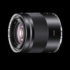 E-Mount 50mm F1.8 OSS Lens
