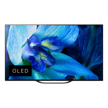 "55"" A8G OLED 4K Ultra HD Android TV with Acoustic Surface Audio , , lifestyle-image"