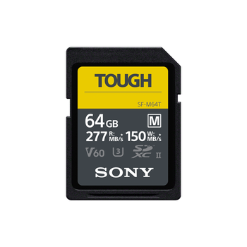 64GB  SF-M Series UHS-II SD Memory Card , , lifestyle-image