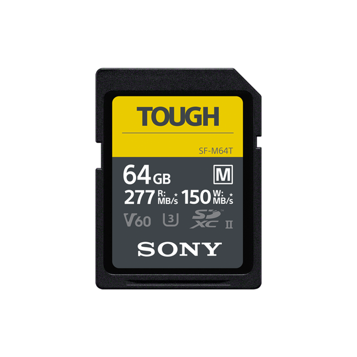 SF-M64 M Series 64GB UHS-II SD Memory Card, , product-image