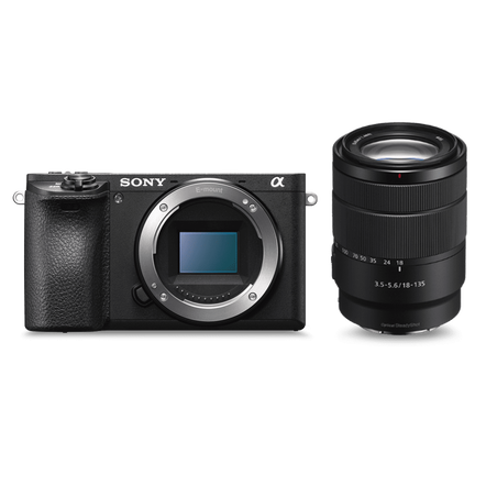 Alpha 6500 Premium E-mount APS-C Camera with 18-135mm Zoom Lens, , hi-res