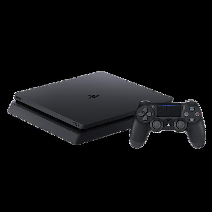 PlayStation4 Slim 1TB Console (Black), , product-image