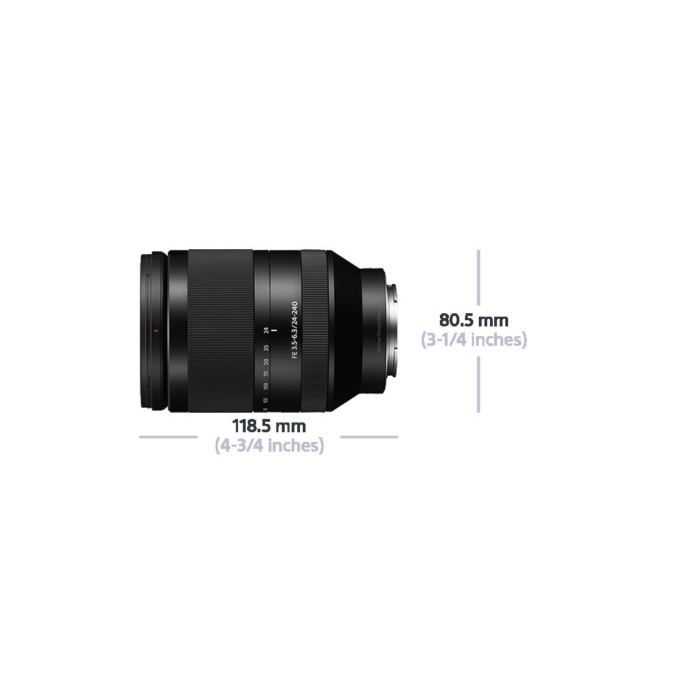 Full Frame E-Mount FE 24-240mm F3.5-6.3 OSS Lens, , product-image