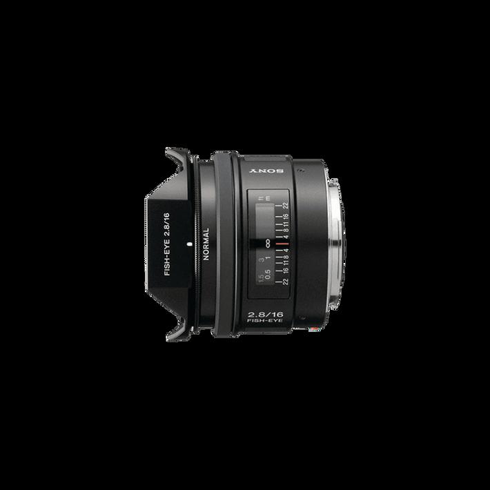 A-Mount 16mm F2.8 Fisheye Lens, , product-image