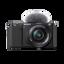 ZV-E10   Interchangeable Lens Vlog Camera with 16-50mm Lens Kit (Black)