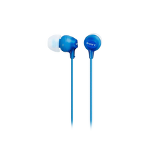 In-Ear Lightweight Headphones with Smartphone Control (Blue)