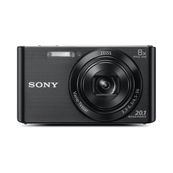 W830 Digital Compact Camera with 8x Optical Zoom (Black), , hi-res