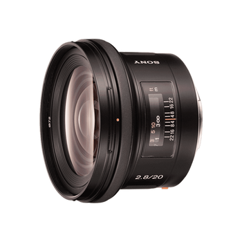 A-Mount 20mm F2.8 Wide Lens, , hi-res