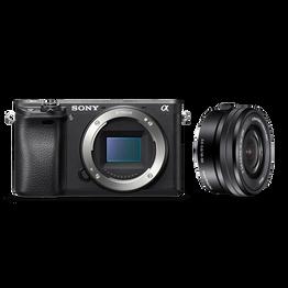 Alpha 6300 E-mount camera with E-Mount 16-50mm Zoom Lens, , hi-res