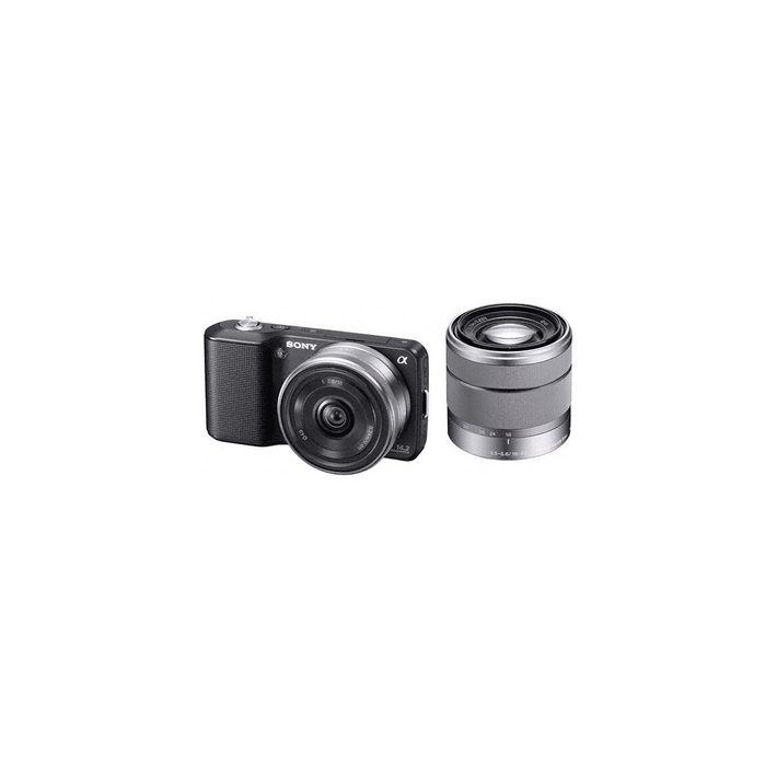 Body with SEL16F28 and SEL1855 lenses (Black), , product-image