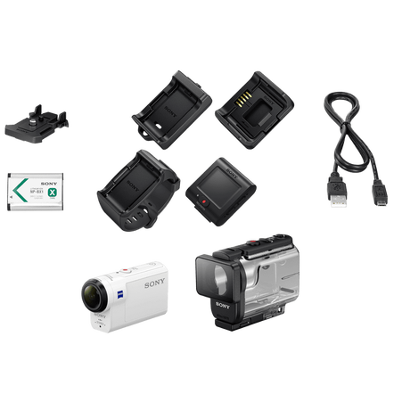 HDRAS300 Action Cam and Live-view Remote Kit, , hi-res