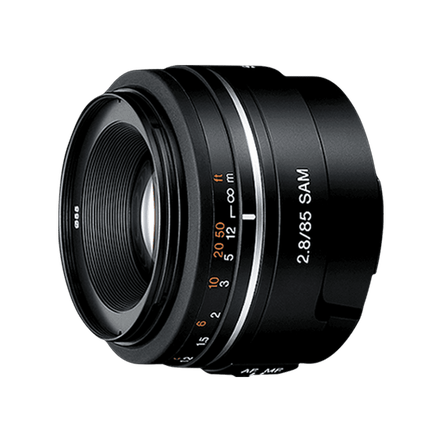 A-Mount 85mm F2.8 SAM Lens, , hi-res