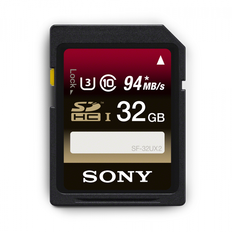 32GB SDHC UHS-1 Class 10 Memory Card UX Series