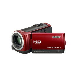 Hybrid 8GB Full HD Camcorder (Red), , hi-res
