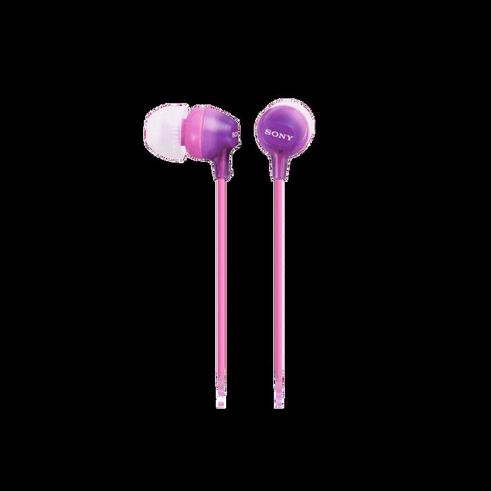In-Ear Lightweight Headphones (Violet), , product-image