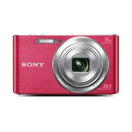W830 DigitalCompact Camera with 8x Optical Zoom (Pink), , hi-res