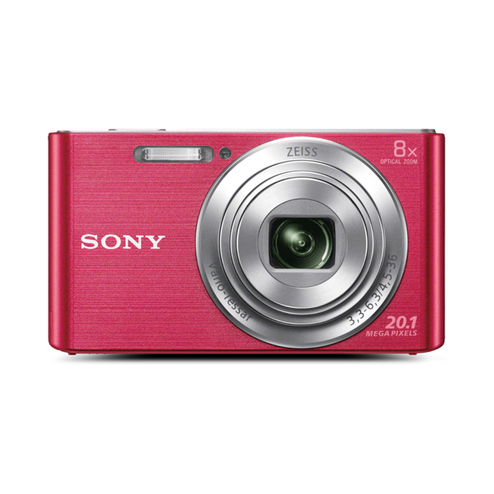 W830 DigitalCompact Camera with 8x Optical Zoom (Pink), , product-image