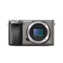 a6000 Digital E-Mount 24.3 Mega Pixel Camera (Grey), , hi-res