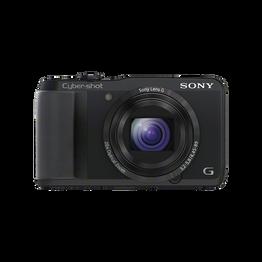 18.2 Megapixel H Series 20X Optical Zoom Cyber-shot Compact Camera (Black), , hi-res