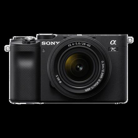 Alpha 7C - Compact Digital E-Mount Camera with SEL2860 28-60mm Lens (Black), , hi-res