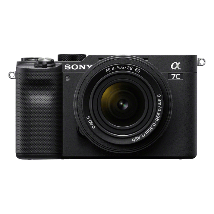 Alpha 7C - Compact Digital E-Mount Camera with SEL2860 28-60mm Lens (Black), , product-image