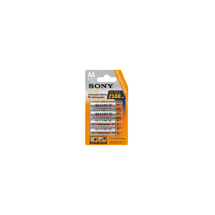AA SIZE BLISTER 4 PACK 2500MAH, , product-image