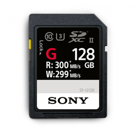 128GB SF-G  Series UHS-II SD Memory Card