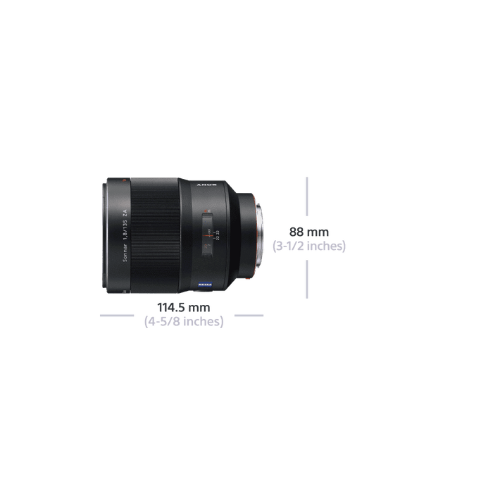 A-Mount Sonnar T* 135mm F1.8 ZA Lens, , product-image
