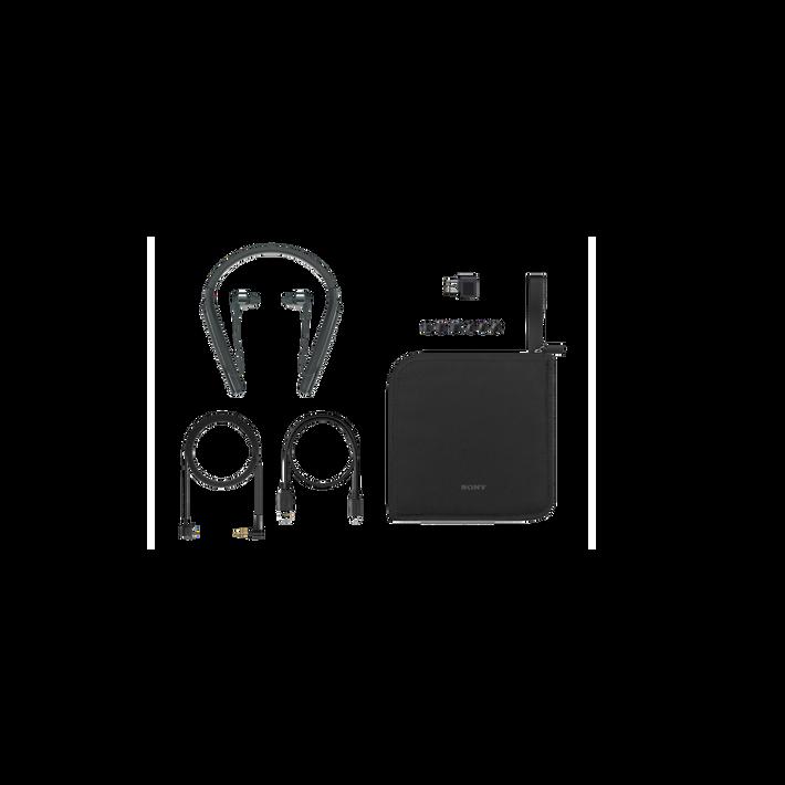 1000X Wireless Neckband Noise Cancelling Headphones (Black), , product-image
