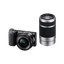 NEX5 E-mount 16.1 Mega Pixel Camera with SELP1650 Lens and SEL55210 Lens
