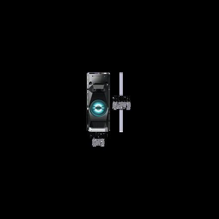 Floor Standing MUTEKI Mini Hi-Fi System with DVD Playback and Bluetooth