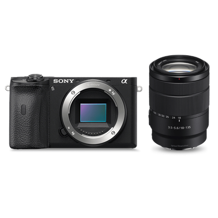 Alpha 6600 Premium E-mount APS-C Camera with 18-135mm Zoom Lens , , hi-res