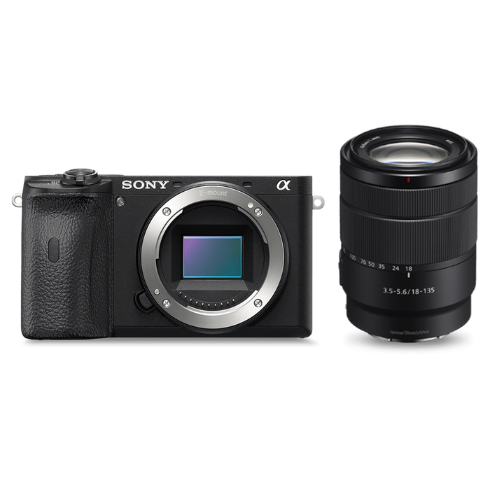 Alpha 6600 Premium E-mount APS-C Camera with 18-135mm Zoom Lens, , product-image