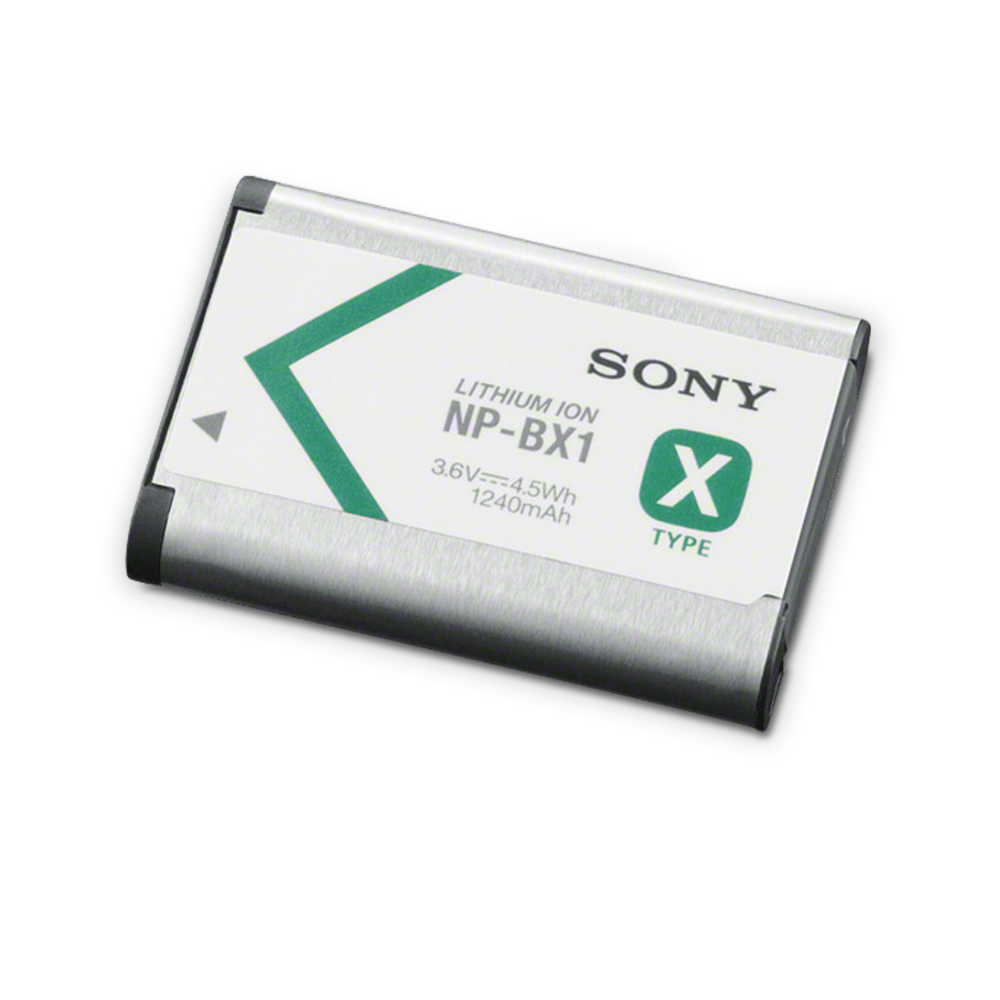X-Series Battery for RX100 Series, RX1 Series, WX500, HX400V and HX90V, , product-image