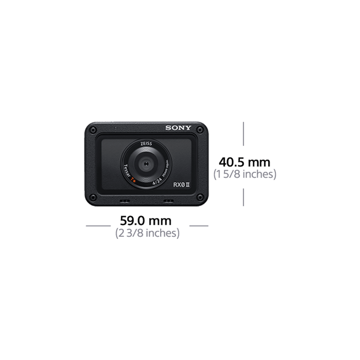 RX0 II premium tiny tough camera kit with VCTSGR1 , , product-image