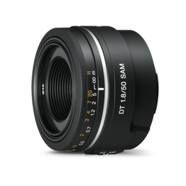 A-Mount DT 50mm F1.8 SAM Lens