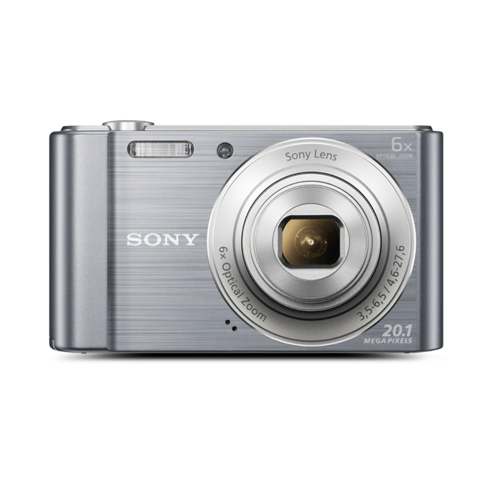 W810 Digital Compact Camera with 6x Optical Zoom (Sliver), , product-image