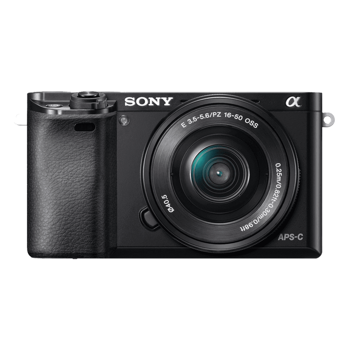 a6000 Digital E-Mount 24.3 Mega Pixel Camera with SELP1650 and SEL55210 Lens, , product-image