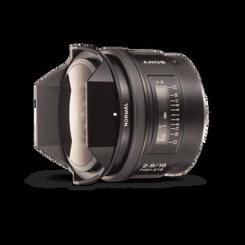 A-Mount 16mm F2.8 Fisheye Lens, , hi-res
