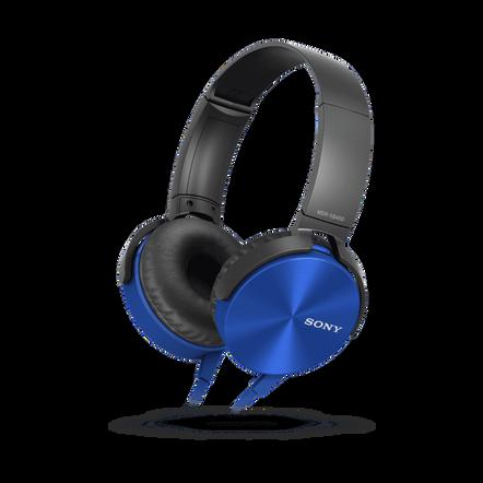 XB450AP EXTRA BASS Headphones (Blue), , hi-res