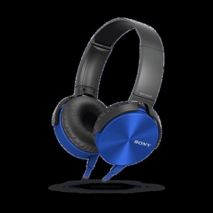 XB450AP EXTRA BASS Headphones (Blue), , product-image