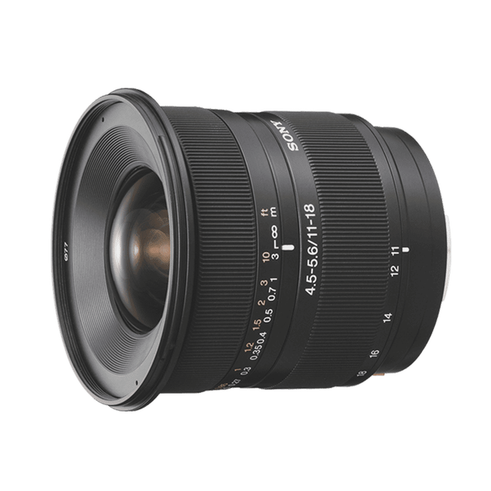 A-Mount 11 18mm F4.5 5.6 Wide Lens, , product-image