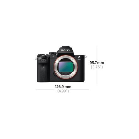 Alpha 7 II Digital E-Mount Camera with Full Frame Sensor (Body only), , hi-res